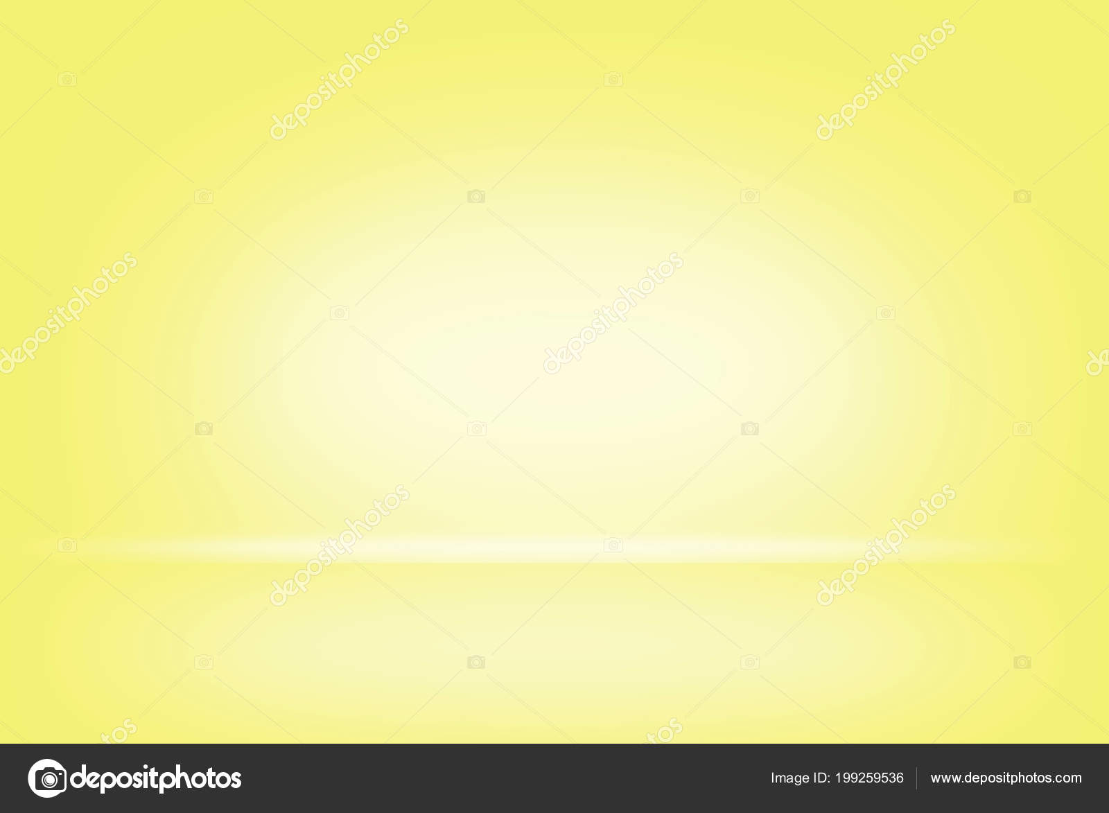 Abstract Yellow Pastel Blurred Smooth Background Color Gradient Wall ...