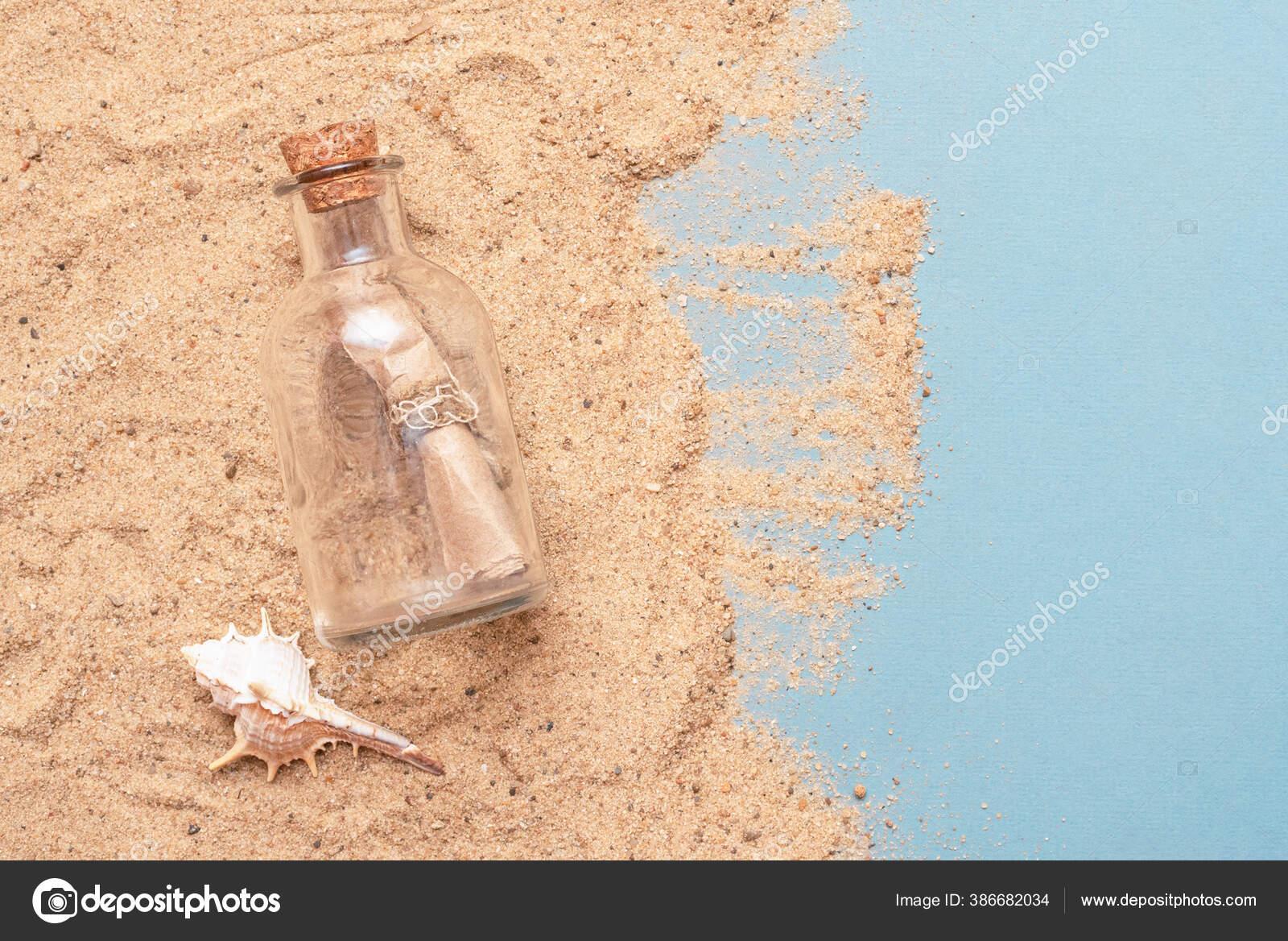 поздравление бутылка с песком красавиц