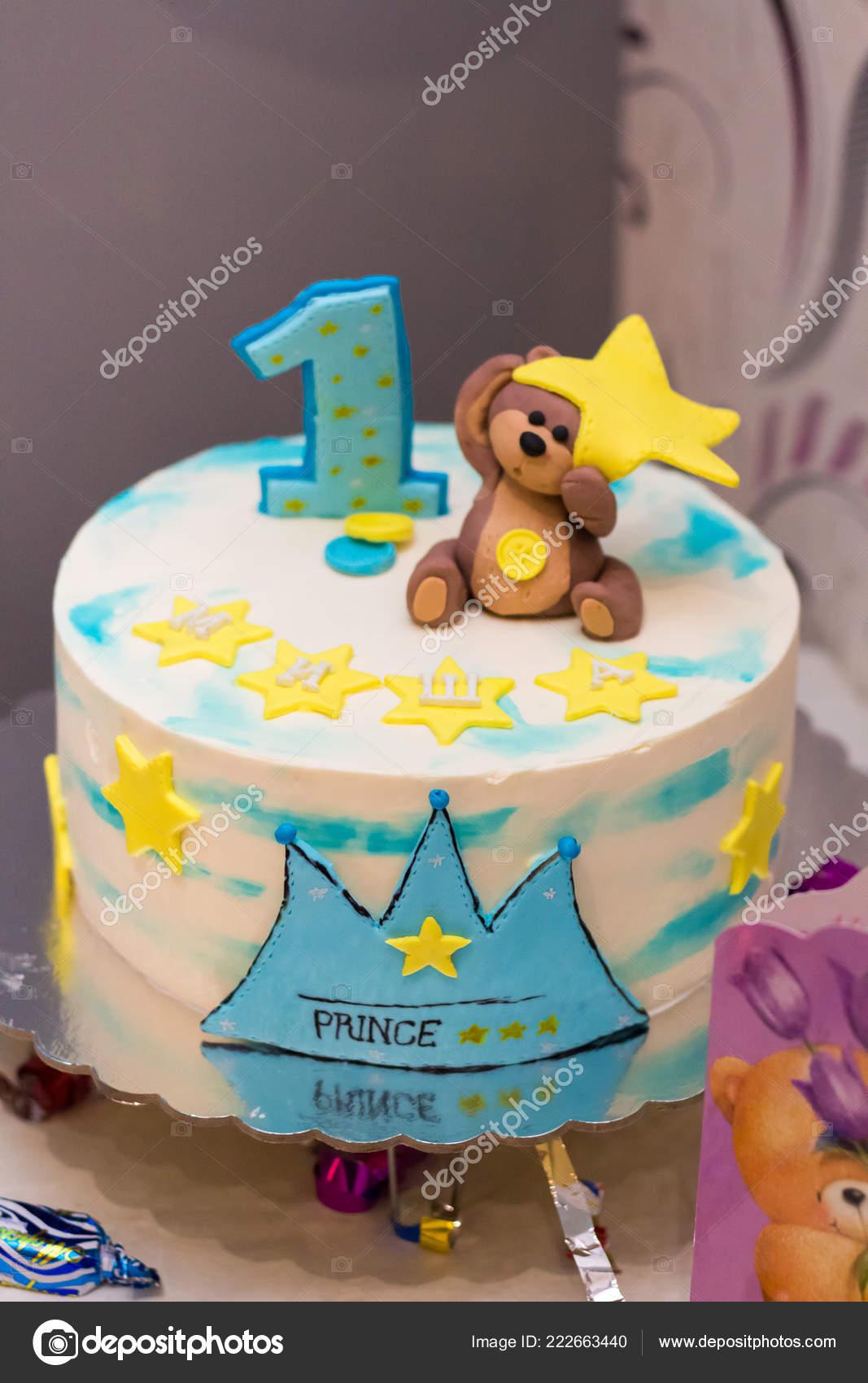 Surprising Children Birthday Cake Festive Table Stock Editorial Photo Funny Birthday Cards Online Alyptdamsfinfo
