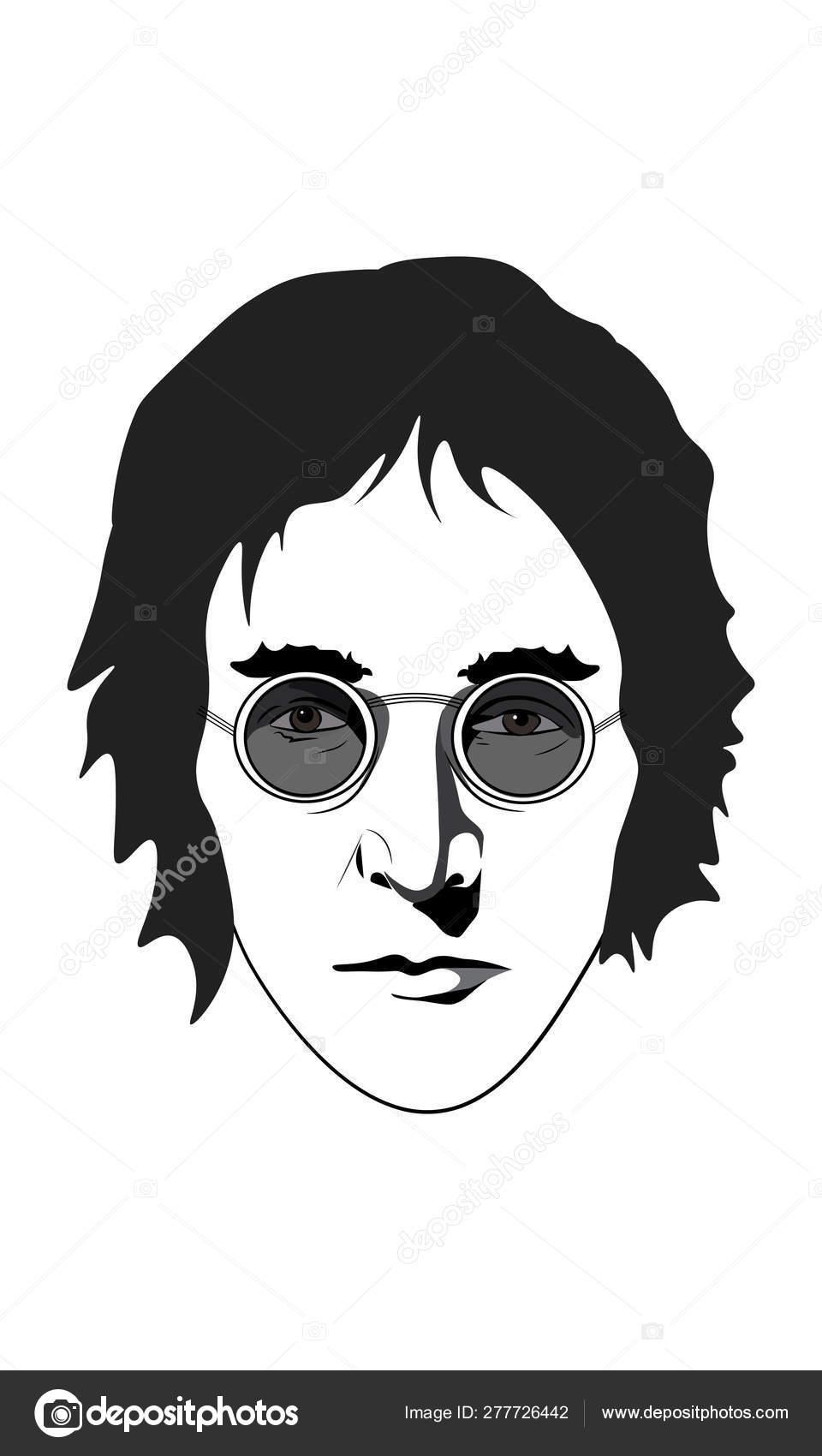 Logo John Lennon Vector