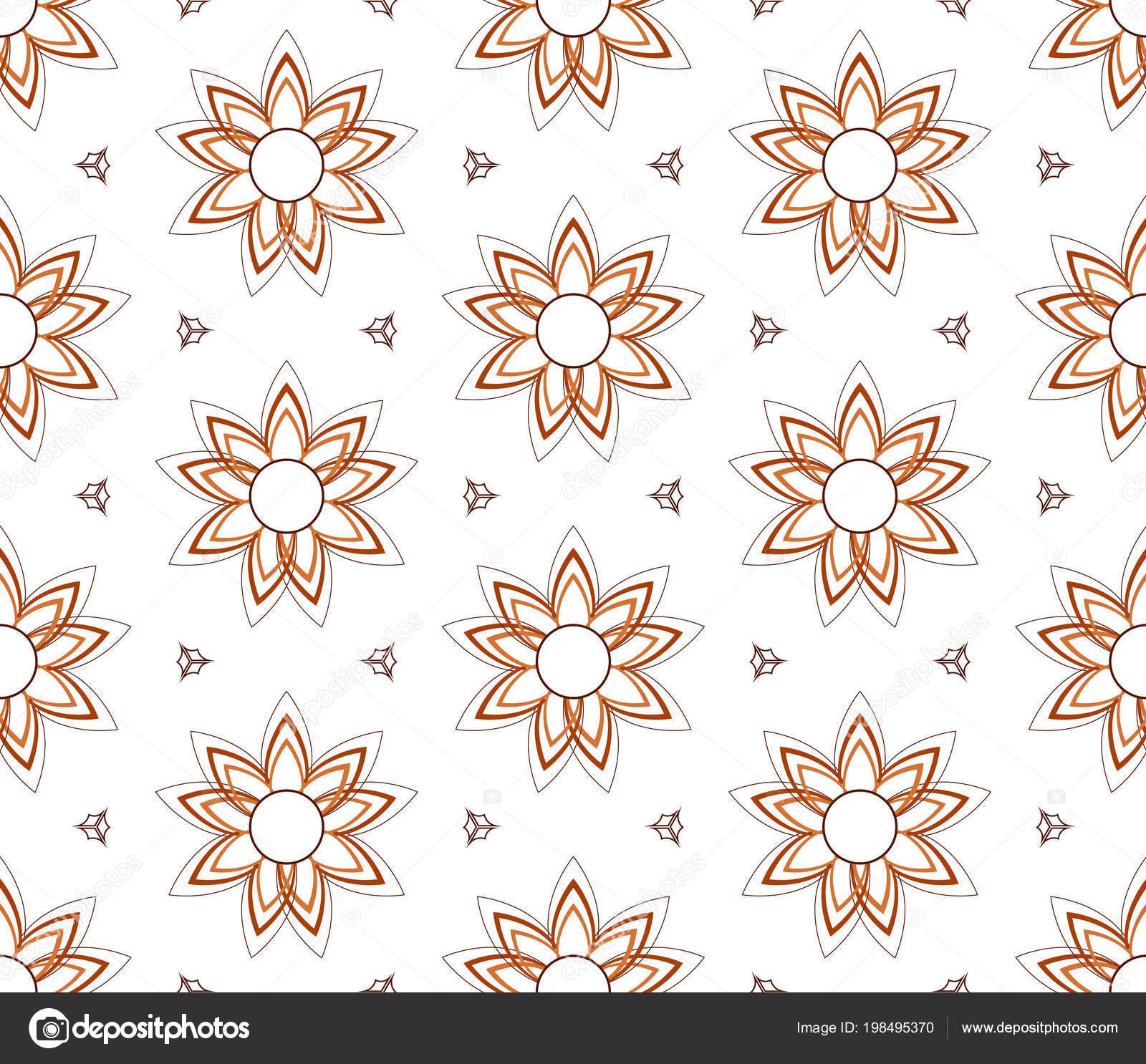 De patrones sin fisuras para los pijamas kurta tradicional — Vector ...