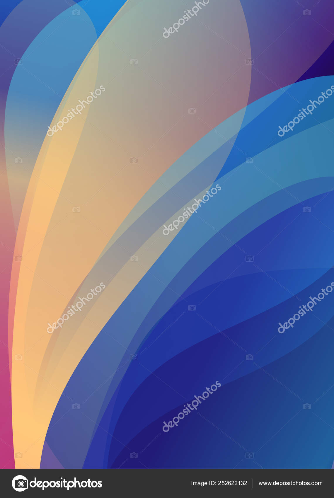 Modern Abstract Background Cover Cool Gradient Shapes