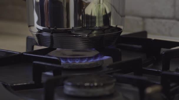 Odbočka na plynový sporák