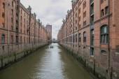 Fotografie Kanal in Hambug