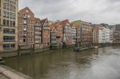 Fotografie Hamburg, Deutschland-Straßen-Ansicht