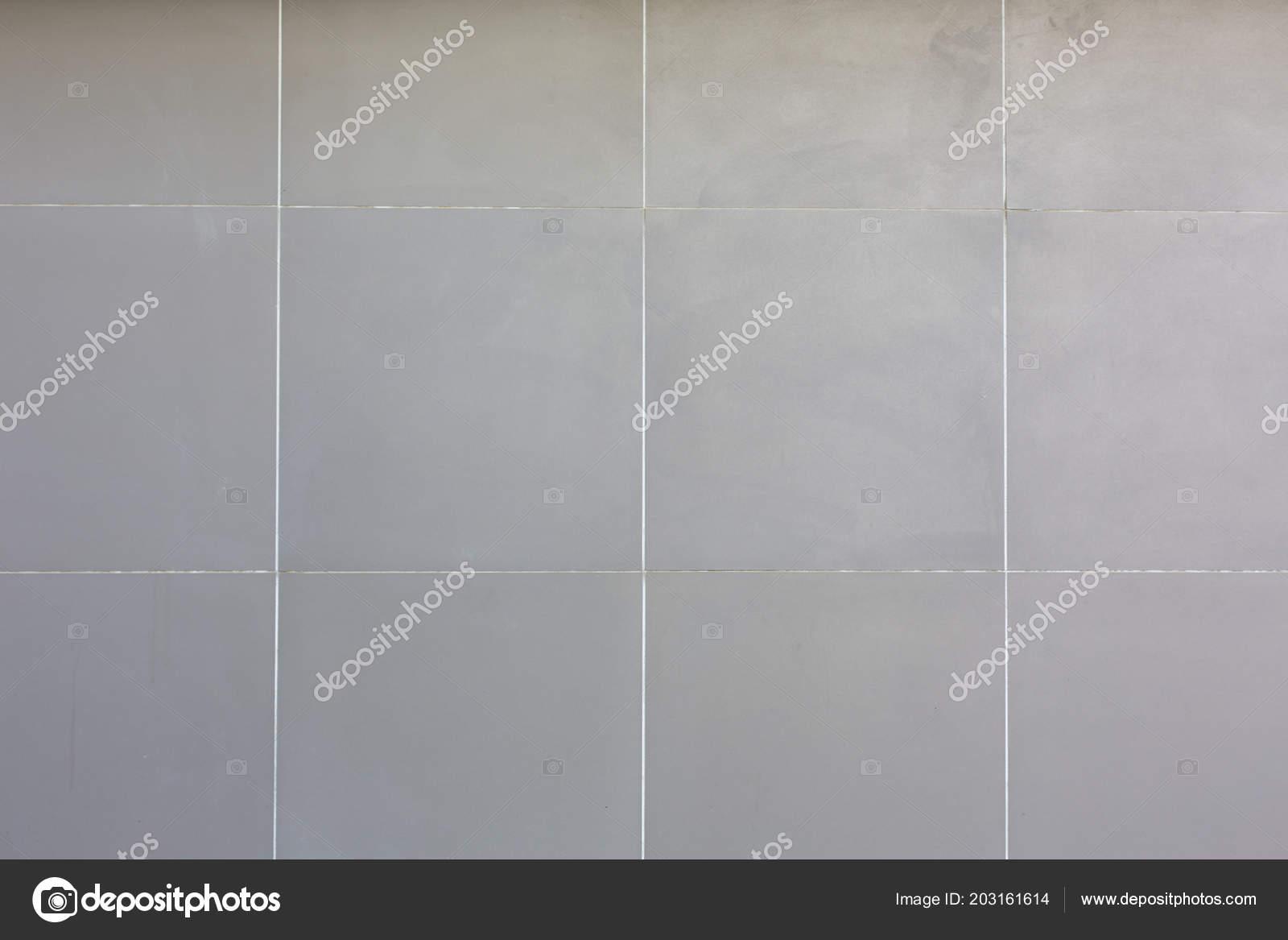 Piastrelle in ceramica bianche quadrato fondo struttura del reticolo