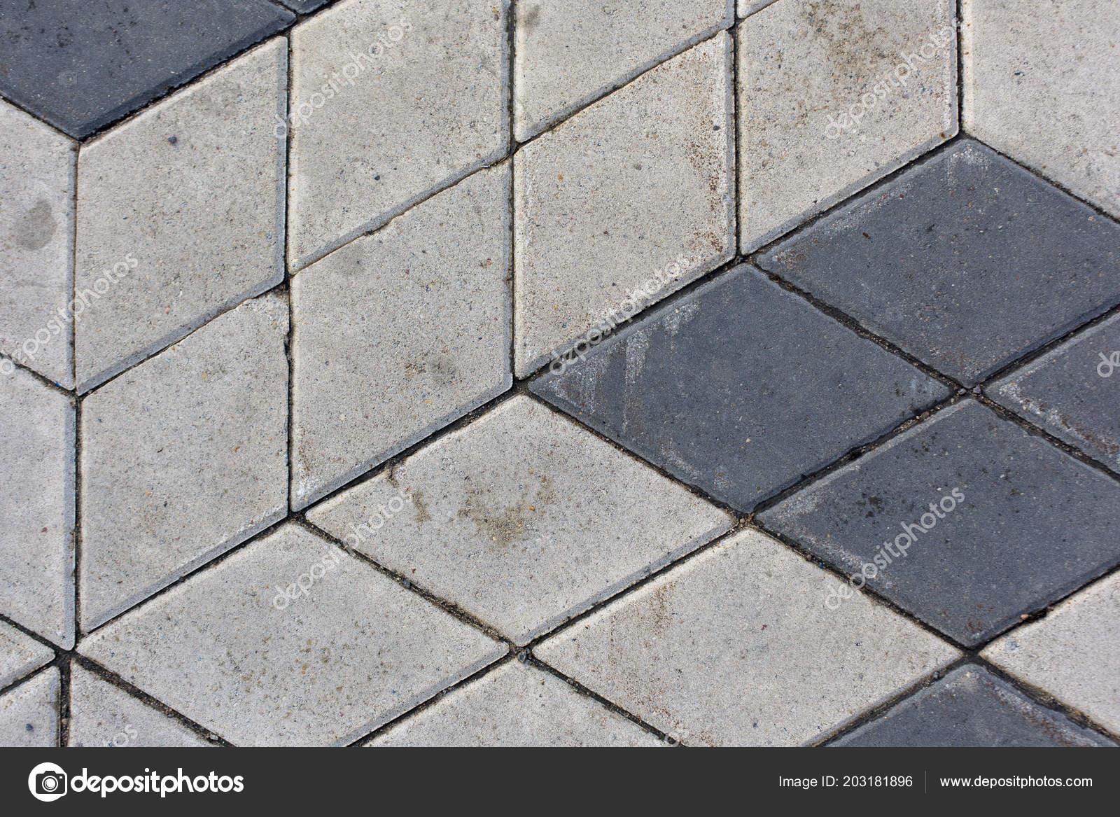 Fondo di struttura del reticolo di rombo cemento piastrelle u foto