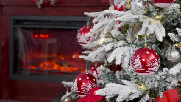 Girlands villogó karácsonyfát