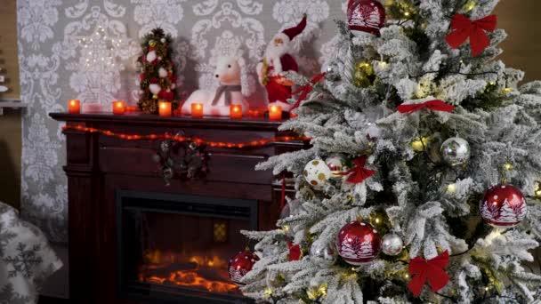 Statická střela vánočního stromu