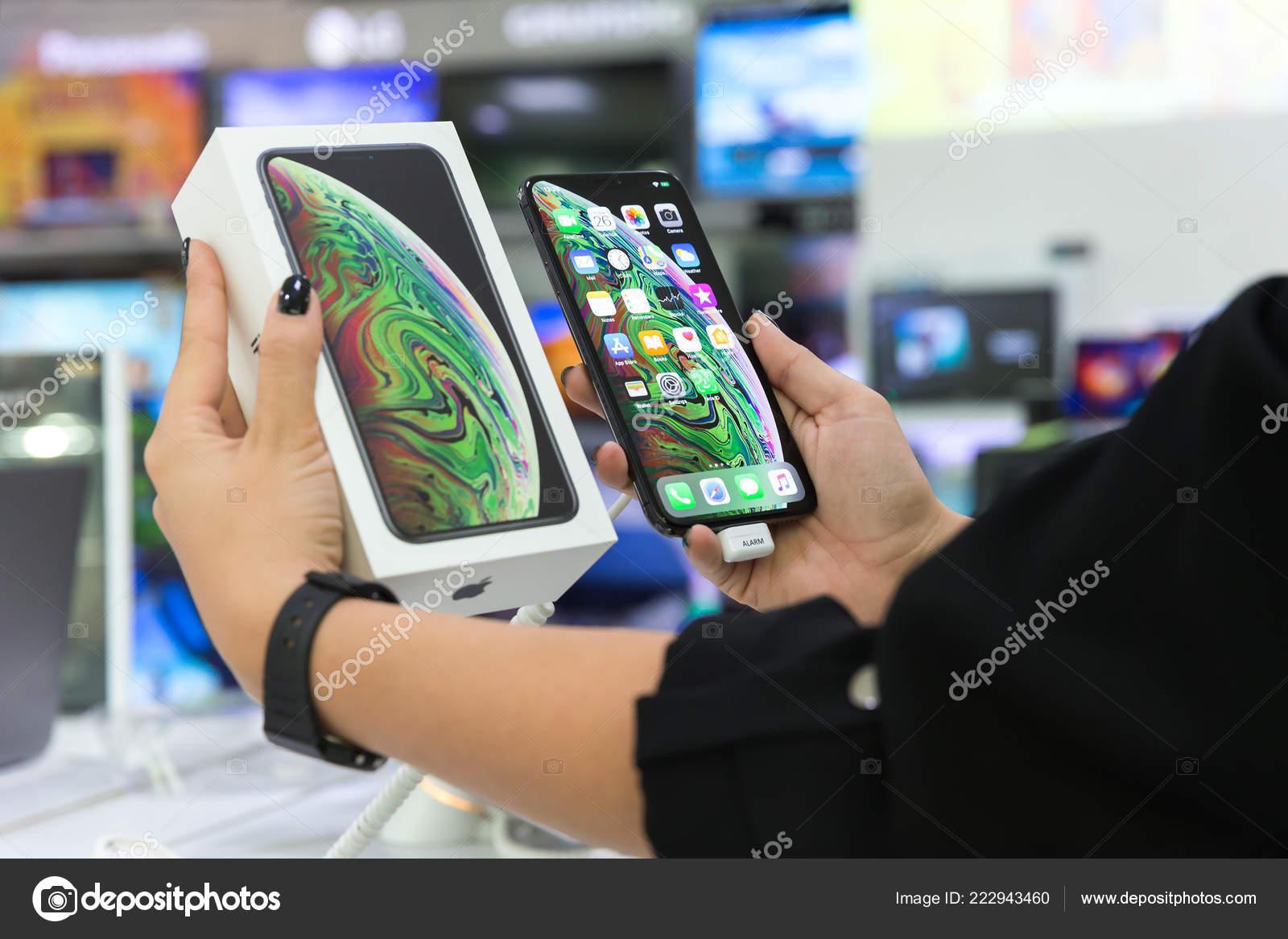 Belgrade Serbia October 2018 New Apple Iphone Max Mobile