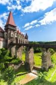 Fotografie Old medieval Castle, Corvimesti Castle, Hunedoara, Romania