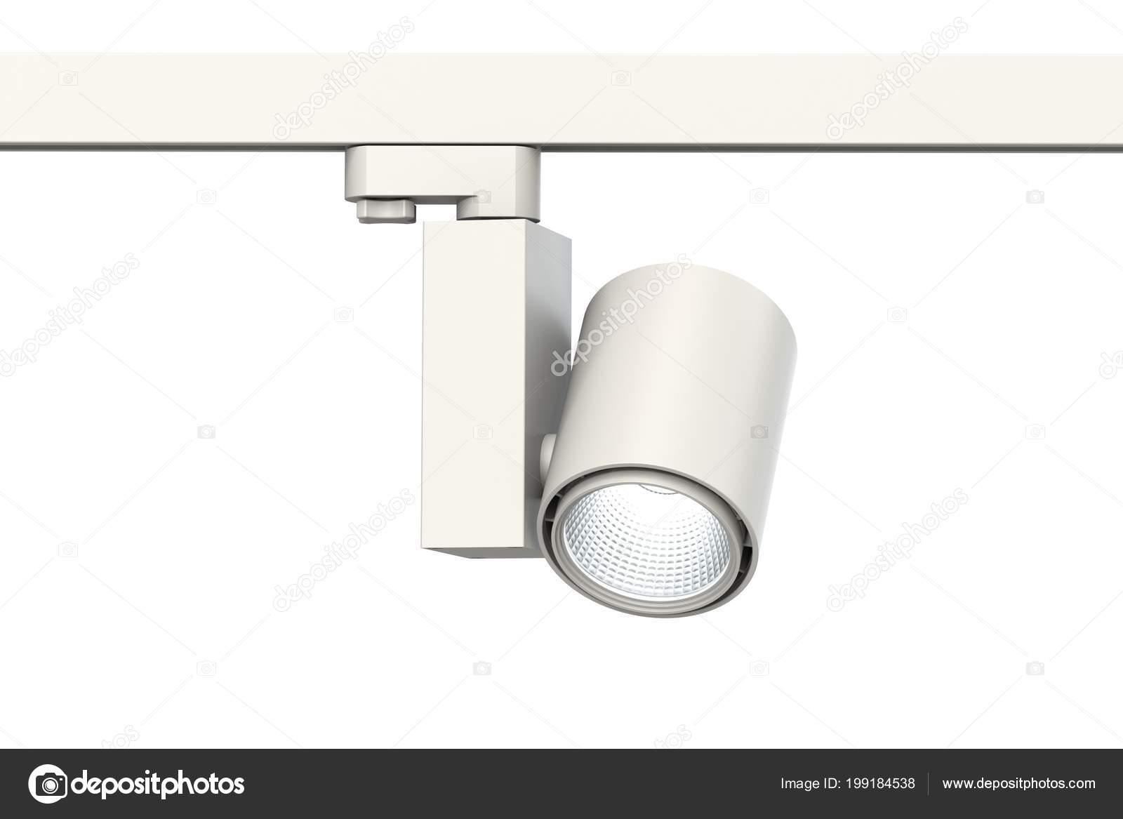 Exhibition Light D Model : Lamp led white track light lighting exhibition spaces shops white