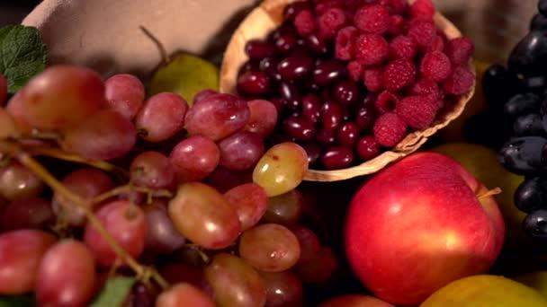 Rozmanitý výběr čerstvého ovoce