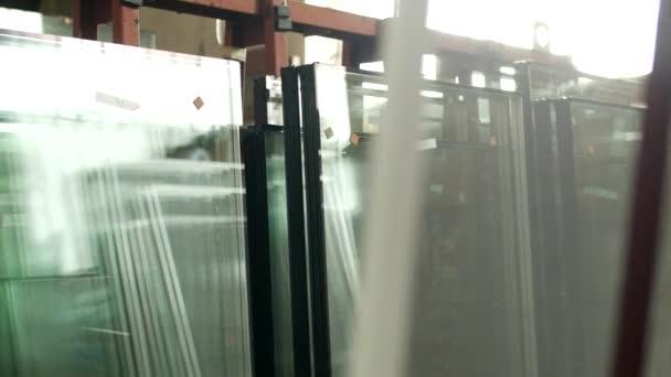 Ventanas Pvc Stock.La Tienda De La Produccion Y Fabricacion De Ventanas De Pvc Ventanas De Doble Acristalamiento Confeccionados Stand En La Tienda Para Mas Montaje De Ventanas De Pvc Vidrio Aislador