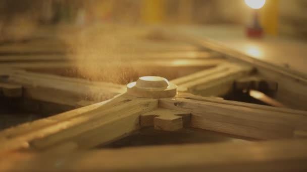 fa por strews, a fából készült termék, a bútorok workshop