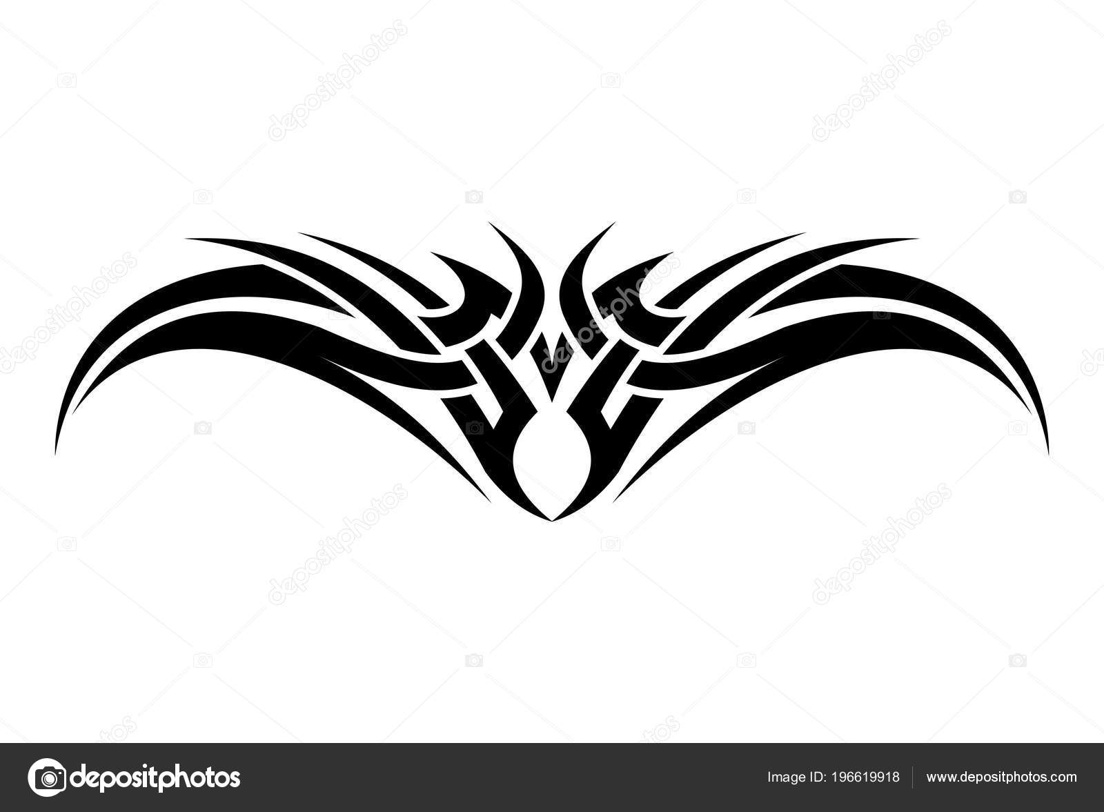 Stock Illustration Volleyball Tribal Abstract Vector: Illustration Vectorielle Arc Abstrait Tribal