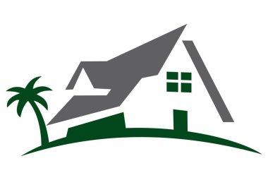 sweet home logo icon concept