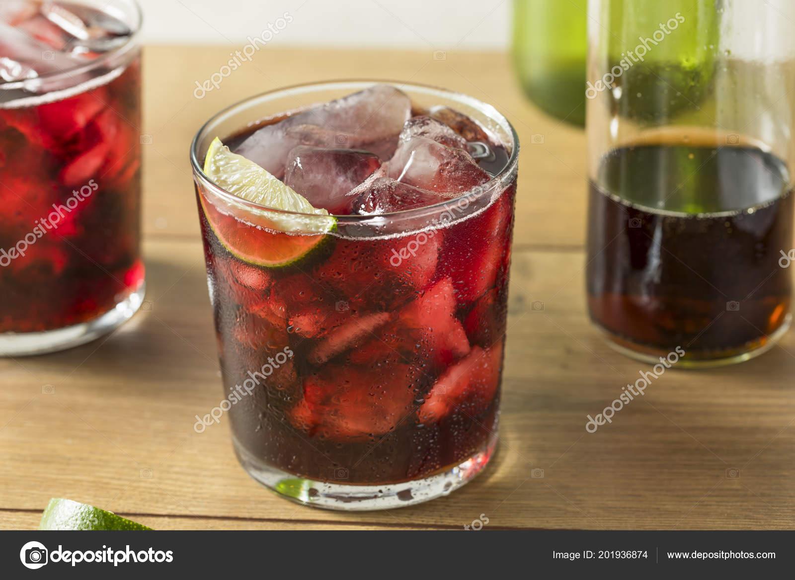 rode wijn cola