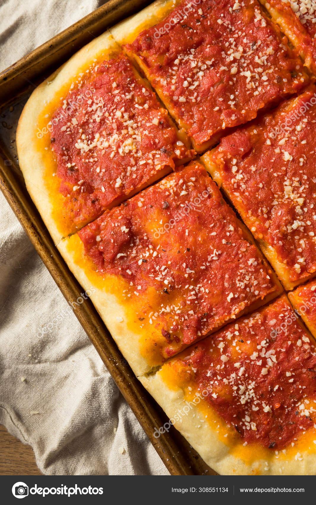 Homemade Philadelphia Tomato Pie Stock Photo C Bhofack2 308551134