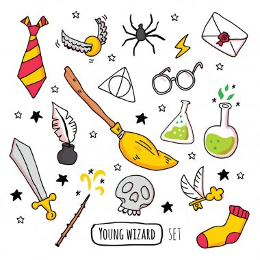 Different magic elements for witches