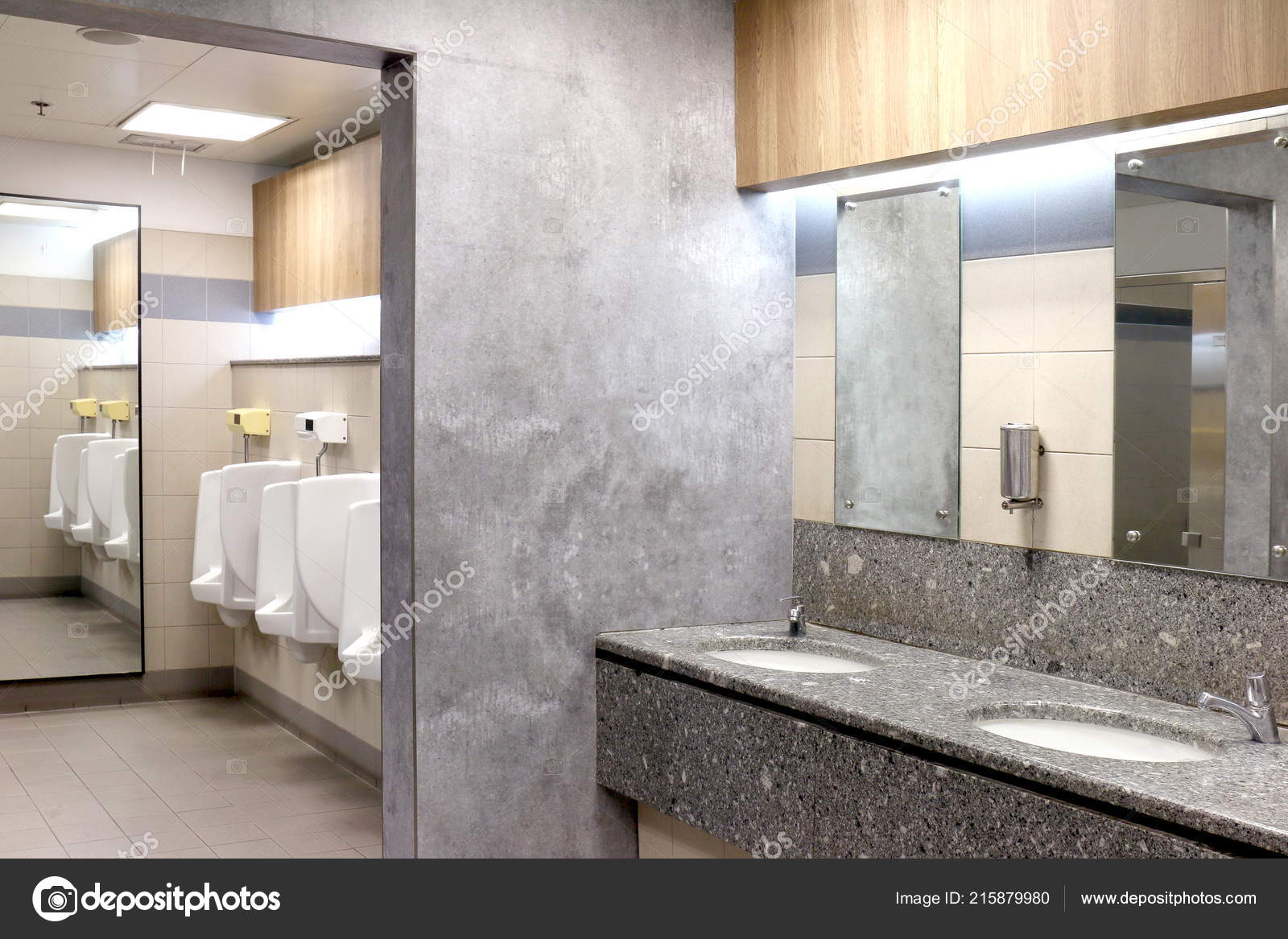 Moderne Toilette Toilette Raum — Stockfoto © cgdeaw #215879980