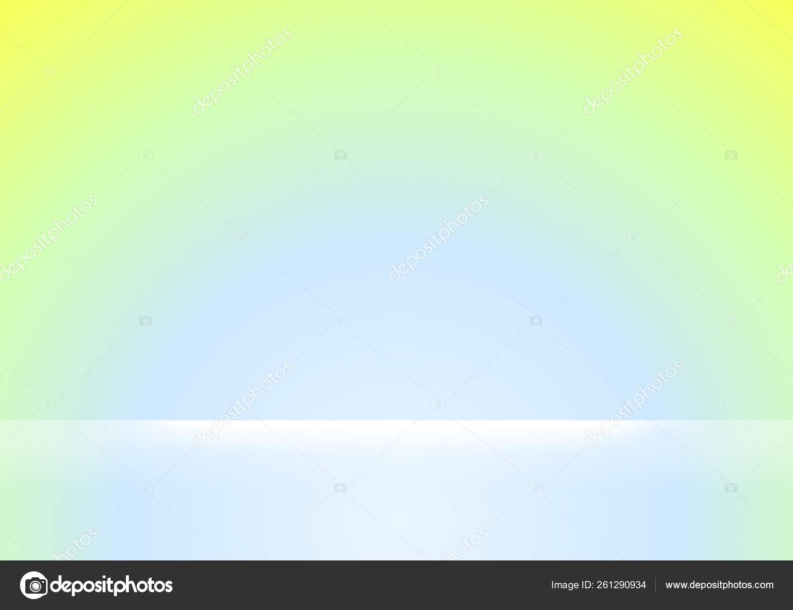 Green Blue Gradient Colors Soft White Light Shine Background