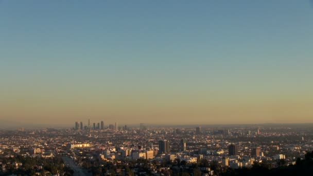 Los Angeles Skyline lövés: Ca, Los Angeles, Amerikai Egyesült Államok