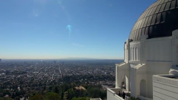 Posouvání Griffith Observatory na povodí Los Angeles: Ca, Los Angeles, Spojené státy americké