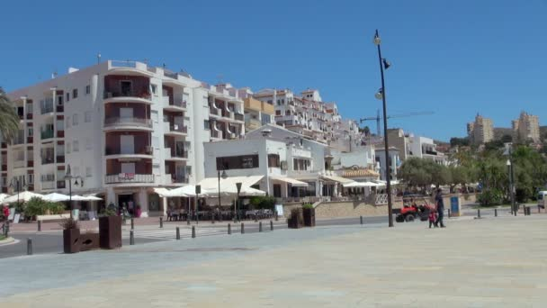 Moreira Town Center with People Walking and Exploring the Beautiful Tourist Spot
