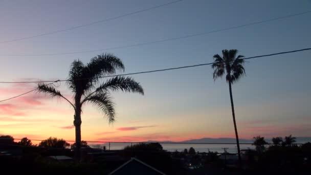 Amazing Beautiful View of the Sunset of Redondo Beach California