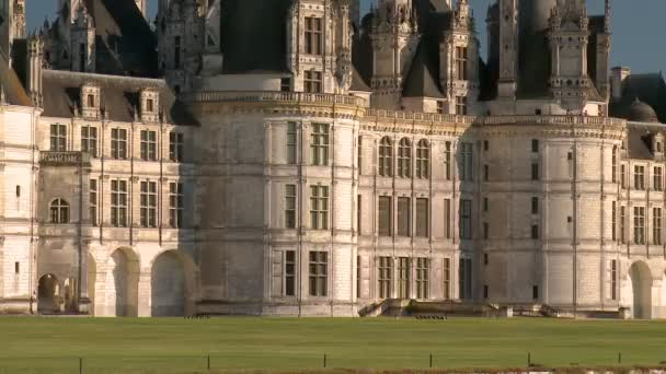 Fast Zoom-out: Amazing Chateau de Chambord View in France Featuring is Fa?ade and Area