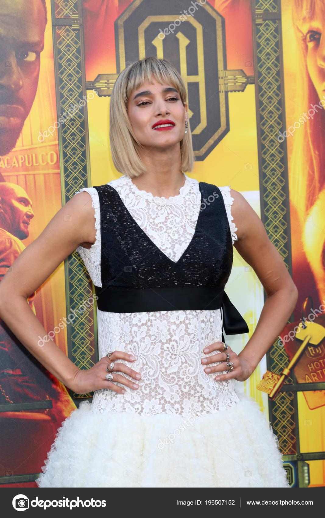 Los Angeles May Sofia Boutella Hotel Artemis Premiere Bruin Theater Stock Photo