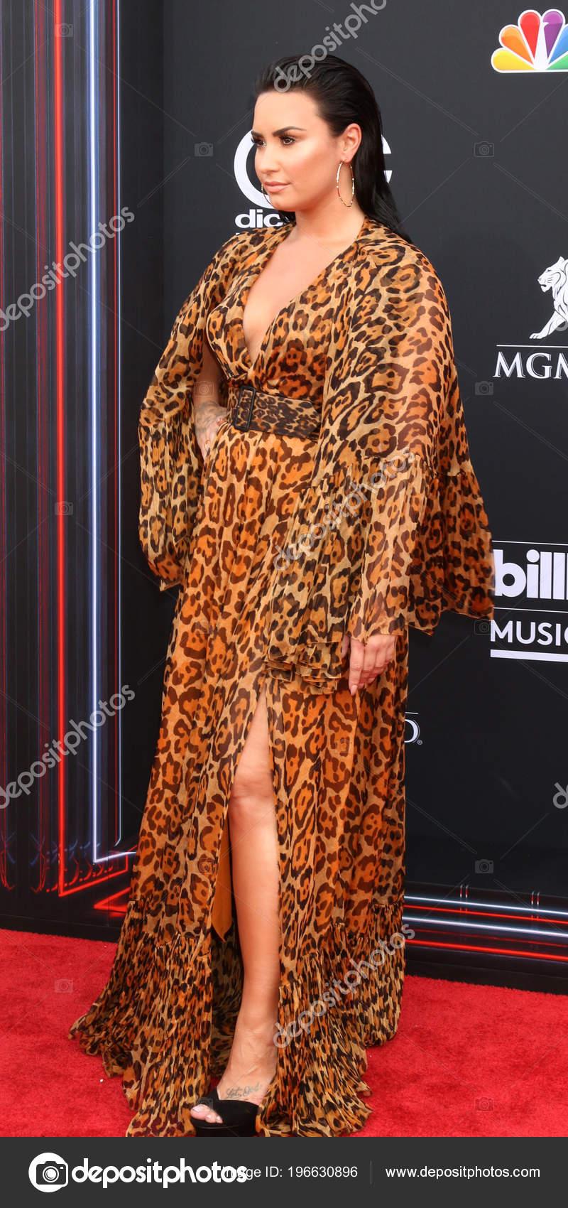 Las Vegas May Demi Lovato 2018 Billboard Music Awards Mgm – Stock ...
