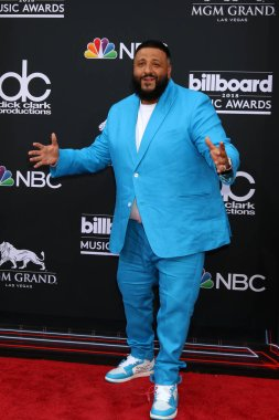 LAS VEGAS - MAY 20:  DJ Khaled at the 2018 Billboard Music Awards at MGM Grand Garden Arena on May 20, 2018 in Las Vegas, NV