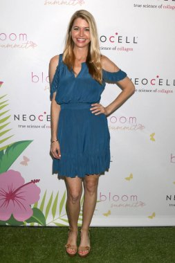 LOS ANGELES - JUN 2:  Jamie Anderson, Actress at the Bloom Summit at Beverly Hilton Hotel on June 2, 2018 in Beverly Hills, CA