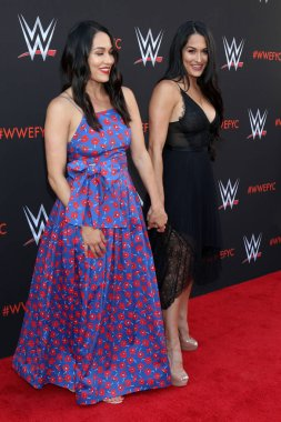 LOS ANGELES - JUN 6:  Brie Bella, Nikki Bella at the WWE For Your Consideration Event at the TV Academy Saban Media Center on June 6, 2018 in North Hollywood, CA