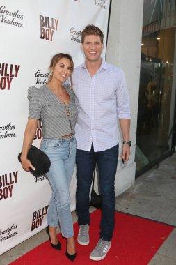 LOS ANGELES - JUN 12:  Danielle Kirlin, Ryan McPartlin at the