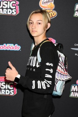 LOS ANGELES - JUN 22:  Backpack Kid, Russell Horning at the 2018 Radio Disney Music Awards at the Loews Hotel on June 22, 2018 in Los Angeles, CA