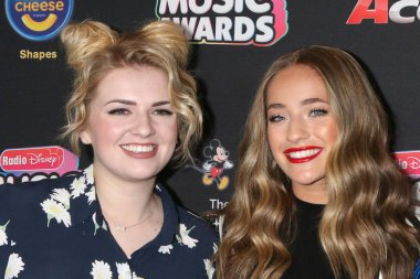 LOS ANGELES - JUN 22:  Maddie Poppe, Brynn Cartelli at the 2018 Radio Disney Music Awards at the Loews Hotel on June 22, 2018 in Los Angeles, CA