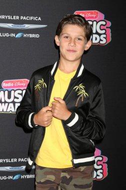 LOS ANGELES - JUN 22:  Jackson Dollinger at the 2018 Radio Disney Music Awards at the Loews Hotel on June 22, 2018 in Los Angeles, CA