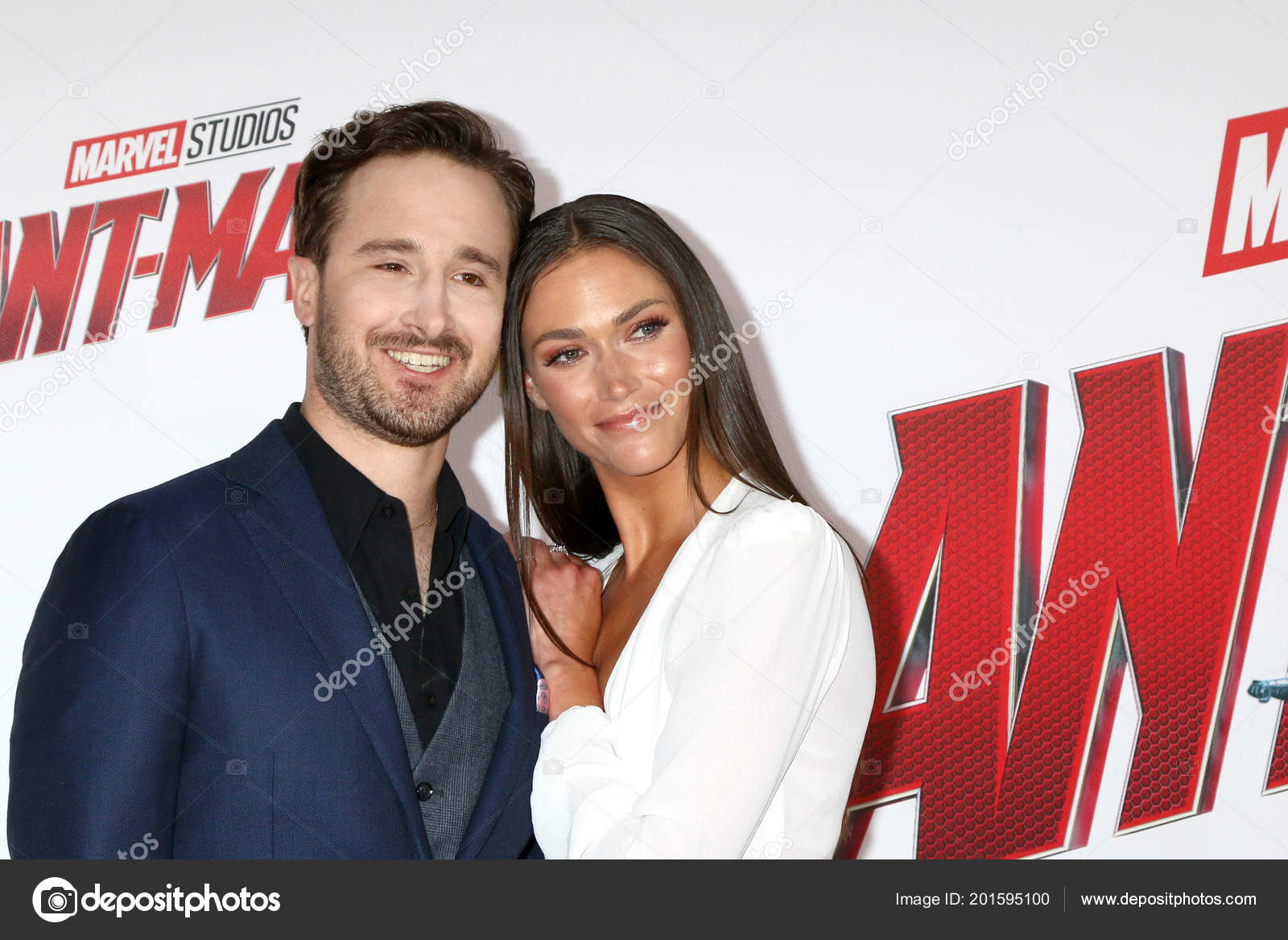 Los Angeles Jun Gabriel Ferrari Guest Ant Man Wasp Premiere – Stock