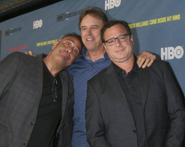 LOS ANGELES - JUN 27:  Brad Garrett, Kevin Nealon, Bob Saget at the