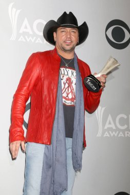 LAS VEGAS - APR 2:  Jason Aldean at the Academy of Country Music Awards 2017 at T-Mobile Arena on April 2, 2017 in Las Vegas, NV