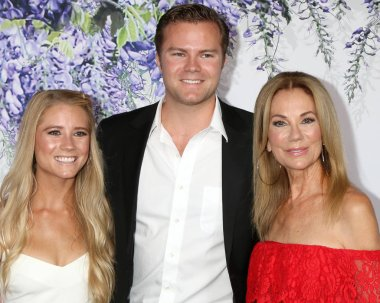 LOS ANGELES - JUL 26:  Cassidy Gifford, Cody Gifford, Kathie Lee Gifford at the Hallmark TCA Summer 2018 Party on the Private Estate on July 26, 2018 in Beverly Hills, CA