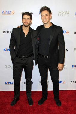 LOS ANGELES - AUG 4:  Bryan Craig, Lincoln Younes at the Kind Los Angeles: Coming Together for Children Alone at the Helms Design Center on August 4, 2018 in Culver City, C