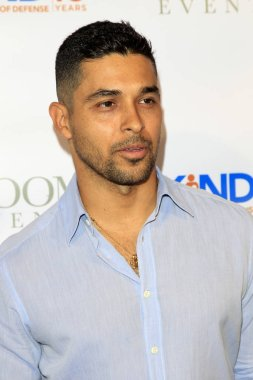 LOS ANGELES - AUG 4:  Wilmer Valderrama at the Kind Los Angeles: Coming Together for Children Alone at the Helms Design Center on August 4, 2018 in Culver City, C