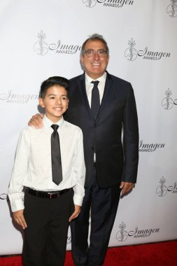 LOS ANGELES - AUG 25:  Jonathan Jaramillo, Kenny Ortega at the 33rd Annual Imagen Awards at the JW Marriott Hotel on August 25, 2018 in Los Angeles, CA