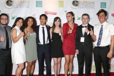 LOS ANGELES - SEP 9:  Hanson Wapmer, Angelique Chen, Nyah Mor-Yossef, Migail  Zamora, Kylie Shapiro, Carly Mendola, Kanny Esterkin, Jackson Cook at the 10th Annual Burbank International Film Festival Closing Night Gala at the Burbank Convention Cente