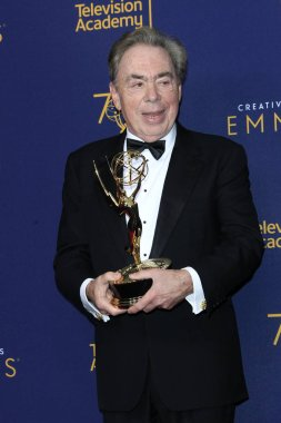 LOS ANGELES - SEP 9:  Sir Andrew Lloyd Webber at the 2018 Creative Arts Emmy Awards - Day 2 - Press Room at the Microsoft Theater on September 9, 2018 in Los Angeles, CA