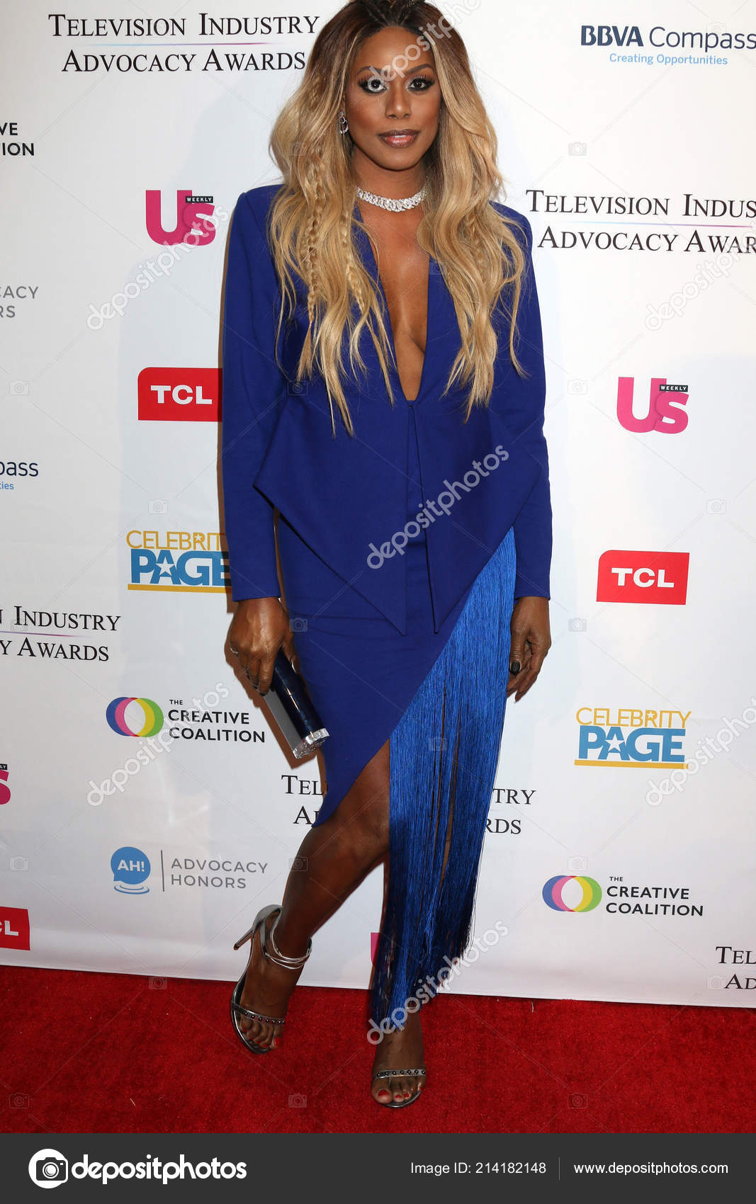 fc6a8c224b1 LOS ANGELES - SEP 15: Laverne Cox at the 2018 Television Industry Advocacy  Awards at the Sofitel Los Angeles on September 15, 2018 in Beverly Hills,  ...